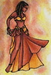 Click for more details of Nubian Sister (cross-stitch pattern) by The Golden Hoop