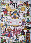 Click for more details of Nursery Rhymes (cross-stitch) by Design Works