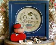 Click for more details of O is for Old Glory (cross stitch) by Heartstring Samplery