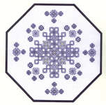 Click for more details of Octagon Maze (blackwork kit) by Classic Embroidery