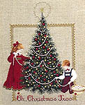 Click for more details of Oh, Christmas Tree (cross stitch) by Lavender & Lace
