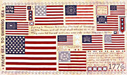 Click for more details of Old Glory (cross-stitch pattern) by Rosewood Manor