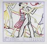 Click for more details of On with the Dance (cross stitch) by Art-Stitch