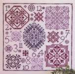 Click for more details of One Dozen Quakers (cross-stitch) by Rosewood Manor