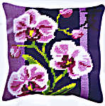 Click for more details of Orchid Cushion Panel (tapestry kit) by Royal Paris