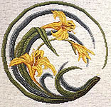 Click for more details of Oriental Garden Series - The Lily (cross-stitch pattern) by The Pacific Collection