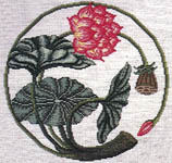 Click for more details of Oriental Garden Series - The Lotus (cross-stitch pattern) by The Pacific Collection
