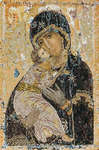 Click for more details of Our Lady of Vladimir (cross-stitch) by Thea Gouverneur