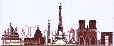 Click for more details of Paris (cross stitch) by Alessandra Adelaide Needleworks