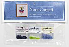 Click for more details of Passion Flower Bridesmaid Embellishment Pack (beads and treasures) by Nora Corbett