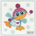 Click for more details of Patch the Penguin (cross-stitch) by Bothy Threads