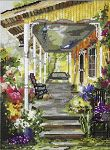 Click for more details of Patricia's Porch (cross stitch) by Pegasus