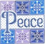 Click for more details of Peace Snowflakes (cross-stitch) by Imaginating