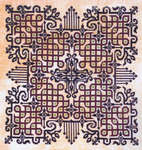 Click for more details of Peace Wheel (cross-stitch pattern) by Ink Circles