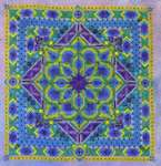 Click for more details of Peacock Mandala (cross stitch) by Northern Expressions Needlework