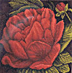 Click for more details of Peony (cross-stitch) by Lanarte