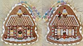 Click for more details of Peppermint Candy (cross stitch) by Blackberry Lane Designs