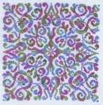 Click for more details of Pizzazz (cross-stitch pattern) by Ink Circles