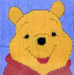 Click for more details of Pooh (long-stitch kit) by Disney by Anchor