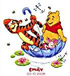 Pooh, Piglet & Tigger Afloat