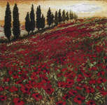Click for more details of Poppy Field (cross-stitch kit) by maia