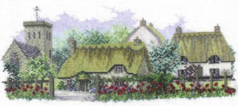Click for more details of Poppyfield Lane (cross-stitch kit) by Rose Swalwell