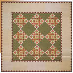 Click for more details of Posy Place (patchwork and quilting pattern) by Wagons West Designs