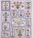 Click for more details of Pots of Flowers (cross stitch) by Rosewood Manor