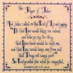 Click for more details of Prayer of Jabez (cross stitch) by Nessy Lynn's