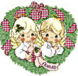 Click for more details of Precious Gifts (cross-stitch pattern) by Gloria & Pat