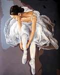 Click for more details of Prima Ballerina (tapestry) by Grafitec