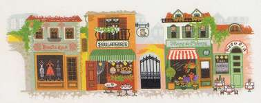 Click for more details of Promenade (cross-stitch kit) by Riolis
