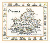 Click for more details of Provence (cross stitch) by Sue Ryder