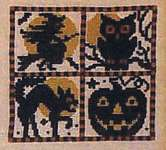 Click for more details of Pumpkin Patch (cross stitch) by The Prairie Schooler