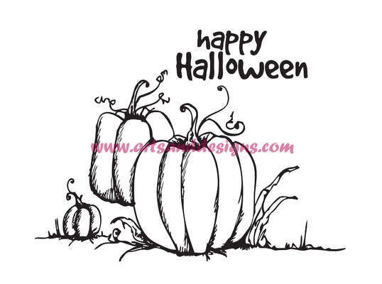 Click for more details of Pumpkin Patch Digi Stamp (digital downloads) by Julie Lynes