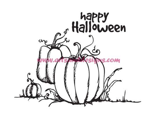 Click for more details of Pumpkin Patch Digi Stamp (digital downloads) by Julie Lynes