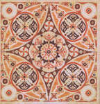 Click for more details of Pumpkin Swirl (cross-stitch pattern) by Glendon Place