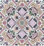 Click for more details of Quaker Geometric Puzzle (cross stitch) by Ink Circles