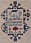 Click for more details of Quaker Meetinghouse (cross-stitch pattern) by Midsummer Night Designs