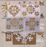 Click for more details of Quaker Quilts (cross stitch) by Carriage House Samplings