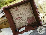 Click for more details of Quaker Sewing Tray (cross stitch) by With Thy Needle and Thread