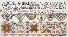 Click for more details of Quakers & Quilts (cross stitch) by Rosewood Manor