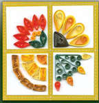 Click for more details of Quilt Block Sampler (quilling) by Quilled Creations