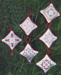 Click for more details of Quilt Ornaments (cross stitch) by Imaginating