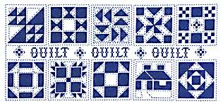Click for more details of Quilt, Quilt, Quilt (cross stitch) by Imaginating