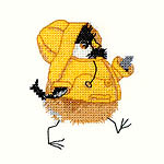 Click for more details of Rain Chick (cross-stitch kit) by Valerie Pfeiffer