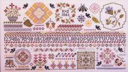 Click for more details of Ravenswood Sampler (cross-stitch pattern) by Rosewood Manor