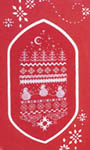 Click for more details of Red Christmas (cross stitch) by Jeannette Douglas