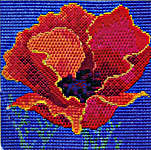 Click for more details of Red Poppy (tapestry) by Rose Swalwell