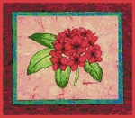 Click for more details of Red Violet Azalea (cross-stitch) by The Golden Hoop